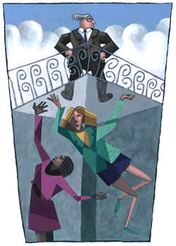 Deltawomen Using The Glass Ceiling Analogy To Understand